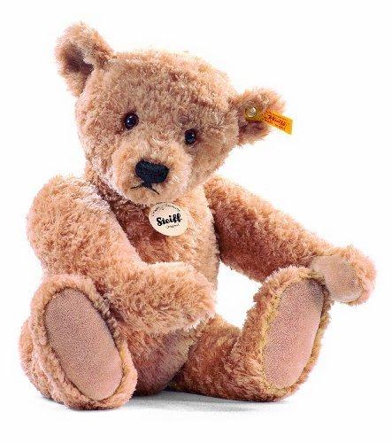 Steiff Elmar Teddy Bear Plush, Golden Brown, 40cm by