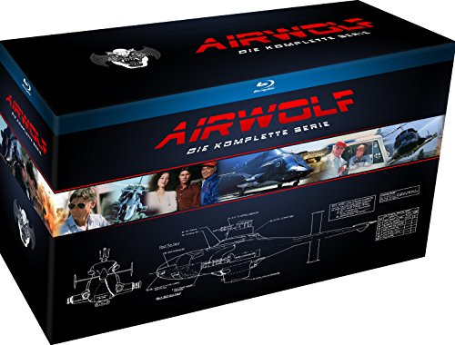Airwolf - Die komplette Serie [Blu-ray] (exklusiv bei Amazon.de)