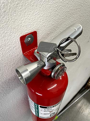 Amerex Fork Style Wall Mount Hanger Bracket 5lb 10lb Fire Extinguisher Hook With Washer And Anchor