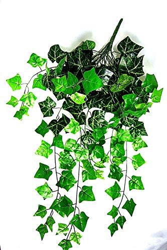tatjana-land-deko 80 cm. Waldefeubusch künstliches Efeu Efeuranke Kunstpflanzen Efeubusch B037
