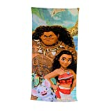 Disney Polynesia Moana Clubhouse Fiber Reactive Beach Towel -...