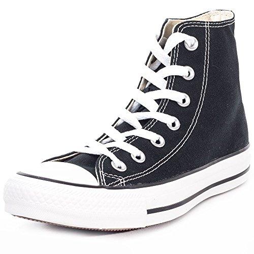 Converse Chuck Taylor All Star Hi Top, Zapatillas Unisex Adulto, Negro (Black/White), 41 EU