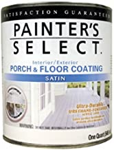 True Value USF1-QT  Painter's Select White Pastel Base Interior/Exterior Urethane Fortified Porch and Floor Coating, 1 Quart