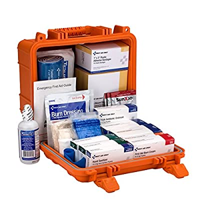 Pac-Kit by First Aid Only ANSI B 24 Unit First Aid Kit with Waterproof Case by Pac-Kit Acme United