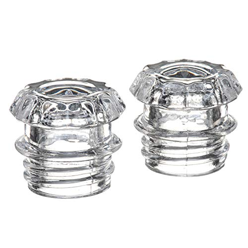 COLETTI Coffee Percolator Glass Top Replacement - (Pack of 2)