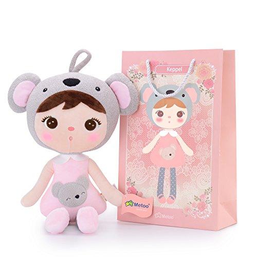 Metoo Plüschpuppe Puppe für Baby und Kleine Mädchen Geburtstagsgeschenk für Kinder (Koala...