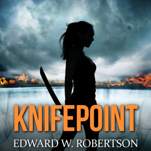 Knifepoint audiobook cover art