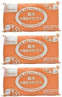 七色 お風呂のせっけん 柿渋(無添加石鹸) 100g×3個入×3セット…
