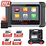 Autel Scanner MaxiCOM MK808BT OBD2 Scan Tool, 25 Reset Functions, Full Diagnostics, ABS Auto Bleed, Oil Reset, EPB, BMS, SAS, DPF, Upgraded Ver. of MK808/MX808, 2021 Newest
