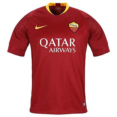 Nike Roma M BRT Stad JSY SS HM Top a Manica Corta, Nessun Genere, Team Rosso/University Gold, M