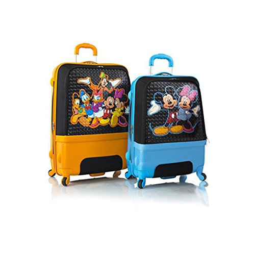 Heys Disney Clubhouse Hybrid Spinner Luggage Set for Kids 2 Pcs - 30', 26'
