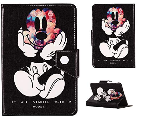 Disney Stand Up Cover 7 7' 8 8' 9.7 9.7' 10.1 inch Tablet Case For Kids Boys & Girls (Universal 7' (7' Inch), Mickey Mouse Disney)