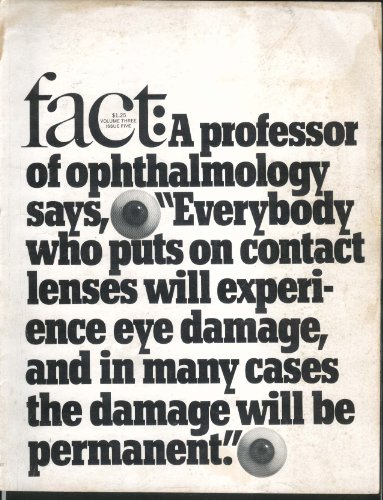 FACT V3#5 Ophthalmology Contact Lenses Vietnam Automation Calvin Hernton + 1966 - medicalbooks.filipinodoctors.org