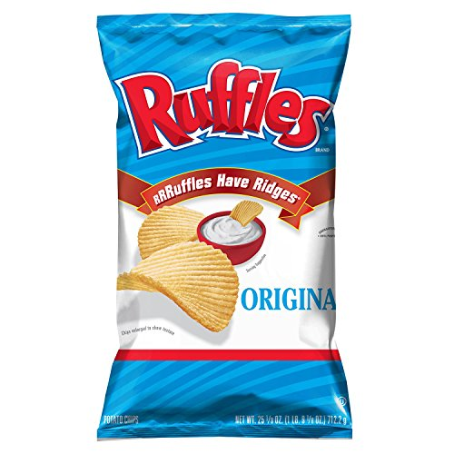 Ruffles Original Potato Chips 25.1 Oz Bag