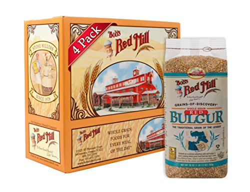 Bob's Red Mill Red Bulgur / Hard Wheat Ala, 28-ounce (Pack of 4)
