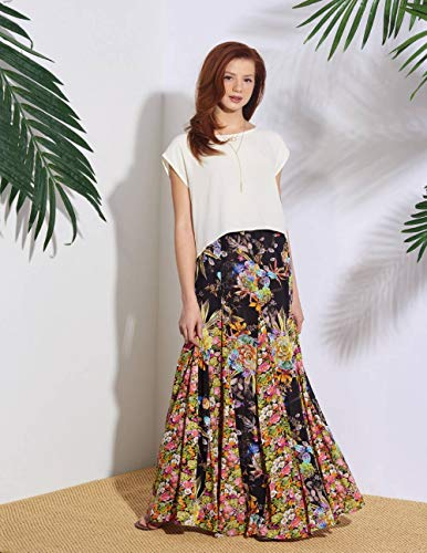Eenvoud naaipatroon S8923 Misses' Pull-On Rokken, Papier, Wit, VARIOUS