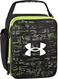 Under Armour Scrimmage, Broken Grid-Lime Insulated Lunch Box, 4 x 10 x 8.2 inch