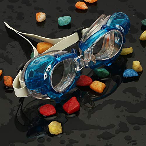 Passion Petals Goggles for Children Anti Fog Swimming Glasses Kids Diving Surfing Goggles boy/Girl Optical Reduce Glare Eye wear - BlueJellyFish