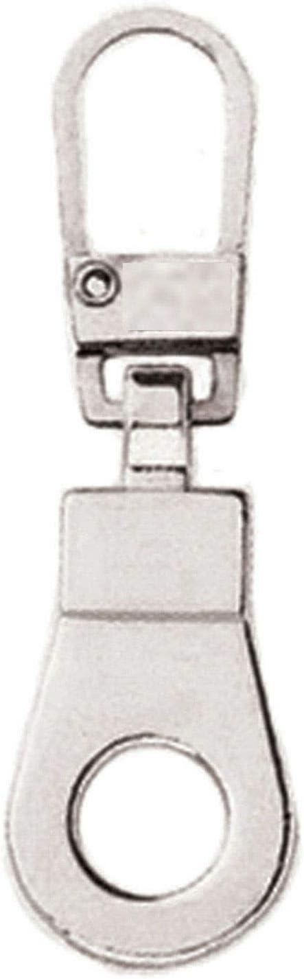 Metal Zip Repair Puller Trouser Bag Replacement Broken Jacket Zipper Quick Fix black leather
