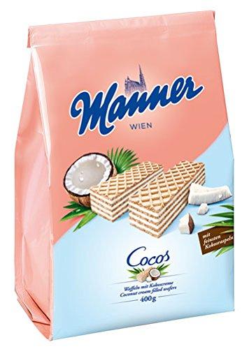 5x Manner - Schnitten Cocos - 400g