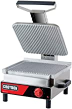 Sanduicheira Elétrica Simples 220V Chapa Estriada Alumínio SASE - Croydon