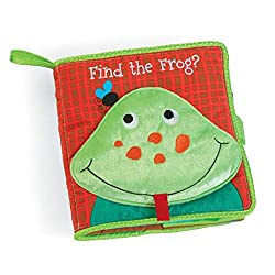 Find the Frog Soft Book For Baby