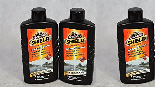 Preisvergleich Produktbild 3 x ArmorAll 20200L Shield Scheibenversiegelung 200ml Abperleffekt KFZ