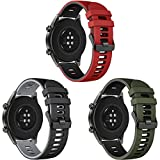 Songsier Cinturino Compatibile con Huawei Watch GT2 PRO 46mm/Watch GT 46mm/Watch GT Active/Watch 2 PRO/Galaxy Watch 3 45mm/Galaxy Watch 46mm/Gear S3/Gear 2, Cinturino di Ricambio da 22 mm
