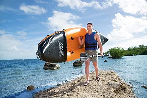 Bestway Hydro-Force Rapid X2 Kayak with Oars, 2 Person Capacity, Orange