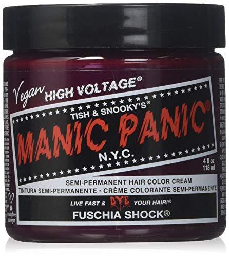 Manic Panic Fuchsia Shock Dark Pink Hair Dye Color