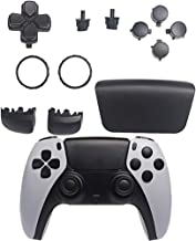 GOTRUTH Replacement Repair Kits for PS5, D-pad + Touchpad Share Options + R1 L1 Trigger + ABXY Bullet Button, Full Set But...