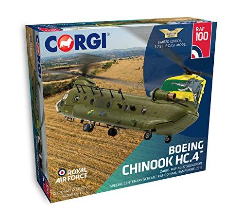 CorgiaAA34214 Chinook 27 Squadron ZA683 2016 100 Años de la RAF Modelo Fundido