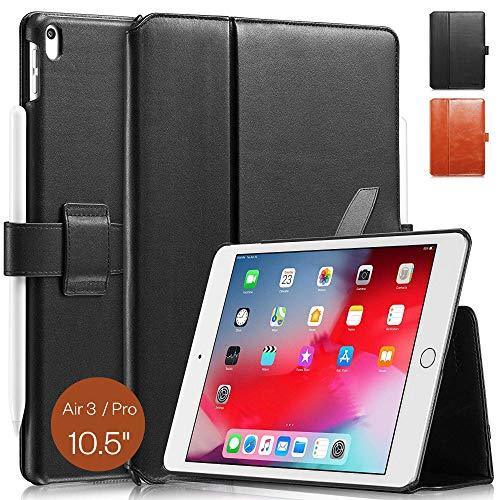 KAVAJ Lederhülle London geeignet für Apple iPad Air 3 2019 und iPad Pro 10.5
