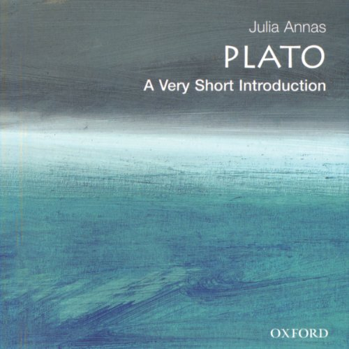 Plato: A Very Short Introduction audiobook cover art