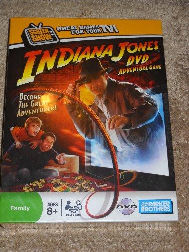 Indiana Jones DVD-Brettspiele - Englisch