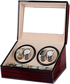 Watch 4 Positions +6 Storage Spaces Automatic Watch Winder Box Watch, Piano Paint, Fashion Watch (Color : Watch Box)