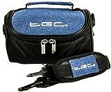 TGC - Funda para cámara Canon PowerShot G12, G15, SX130 IS con Correa para el Hombro y asa de Transporte