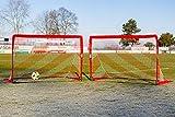 POWERSHOT But de Foot Pop UP - la Paire - Couleurs et Tailles au Choix ! (Rouge/Blanc : 1,2 x 0,9 m)