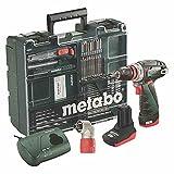 Metabo 600157880 PowerMaxx BS Q Pro 10,8V Akku-Bohrschrauber, 2,0/4,0Ah Mobile Werkstatt