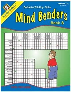 Mind Benders: Deductive Thinking Skills, Book 8, Grades 7-12+