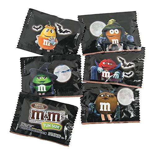 Fun Express - Gid Fun Size Halloween Chocolate M&M's for Halloween - Edibles - Chocolate - Branded Chocolate - Halloween - 36 Pieces