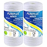 5 Micron 4.5' x 10' Whole House String Wound Sediment Filter for Well Water, Replacement Cartridge for 84637, WPX5BB97P, PC10, 355214-45, 355215-45, WP10BB97P, WP5BB97P, 2Pack