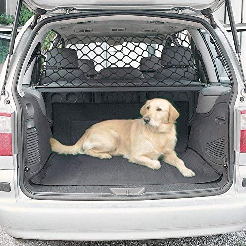LIZHOUMIL Filet de séparation pour coffre de voiture et animal domestique Noir 120 x 70 cm