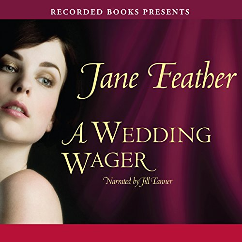 A Wedding Wager audiobook cover art