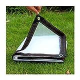 YASE-king Cinturón transparente reforzado esquina de la ventana abierta impermeable Junta de almacenamiento de plástico de aislamiento de tela (Tamaño: 2Mx5m), 5X6m