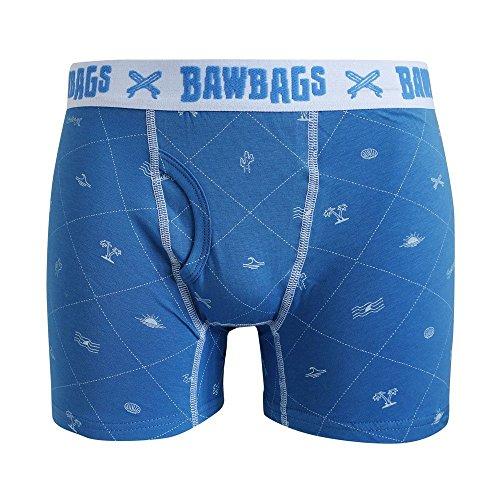 BawBags Surf Mens Boxer Shorts Boxer Briefs Pants - 4XL / 44-46