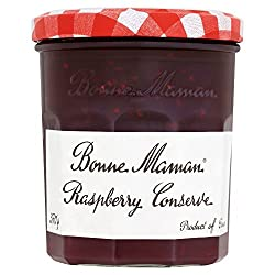 Delicious preserves made with all natural ingredients Contains highest quality raspberries It can be used as an ingredient in special recipes Raspberry Extra Jam Refrigerate after opening. Product of France