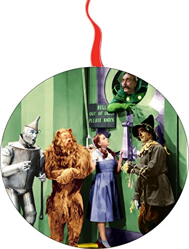Wizard of Oz The Wizard Christmas Tree Holiday Ornament Printed Double- 2 Sided Decoration Great Unisex