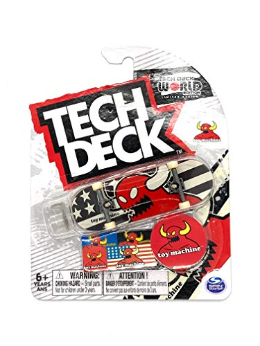 Fingerboard Tech Deck World Edition Limited Series - Toy Machine American Monster