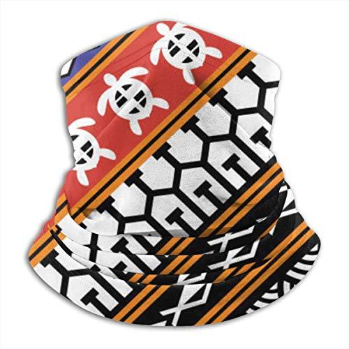 IconSymbol Hals Gamasche Schal Bandana Gesichtsmaske Tribal Pattern Tattoo 2 UV-Schutz für Motorradfahren Reiten Laufen Warme Stirnbänder